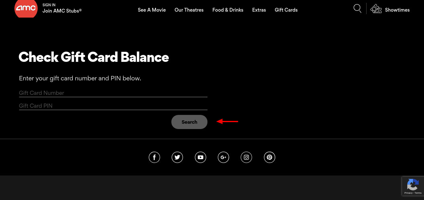 How To Check AMC Theatre Gift Card Balance